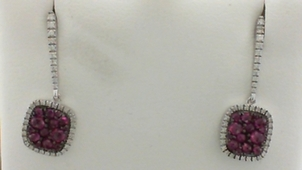 Ruby: Julys Birthstone Ruby-and-Diamond-Earrings