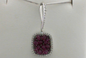 Ruby: Julys Birthstone Ruby-Pendant-with-Diamonds