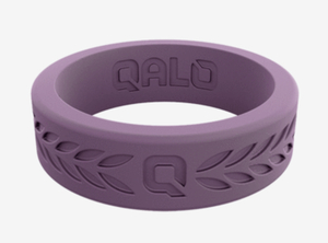 photo of Size 5 Ladies Lilac Laurel Q2X silicone ring item 001-426-00053