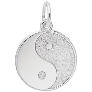photo of Sterling silver YingYang charm item 001-710-02694