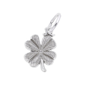 photo of Sterling silver  four Leaf Clover charm item 001-710-03139
