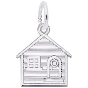 photo of Sterling Silver House Charm item 001-710-03347