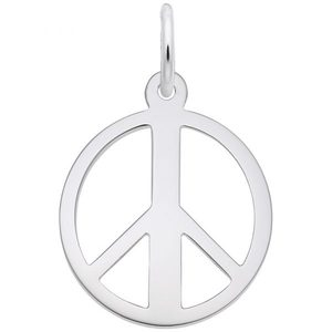 photo of Sterling silver Peace Charm item 001-710-03401
