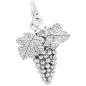 photo of Sterling silver Grapes charm item 001-710-03509