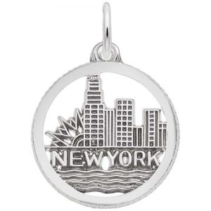 photo of Sterling silver New York skyline charm item 001-710-03519