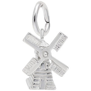 photo of Sterling silver Windmill charm item 001-710-03522