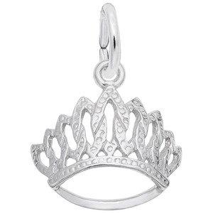 photo of Sterling Silver tiara charm item 001-710-03526