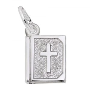 photo of Sterling silver Bible Charm item 001-710-03527