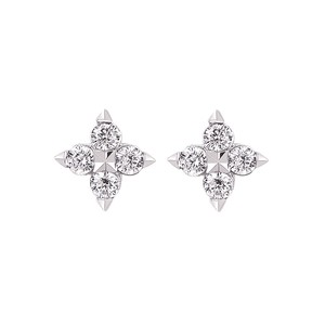 photo of 14 karat Diamond Earrings with 1/6 carat total diamond weight item OE19A23